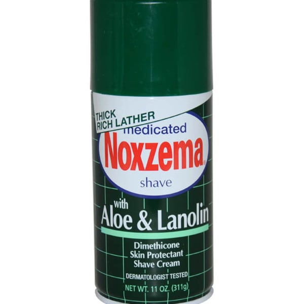 Noxzema Medicated with Aloe and Lanolin 11-ounce Shave Cream