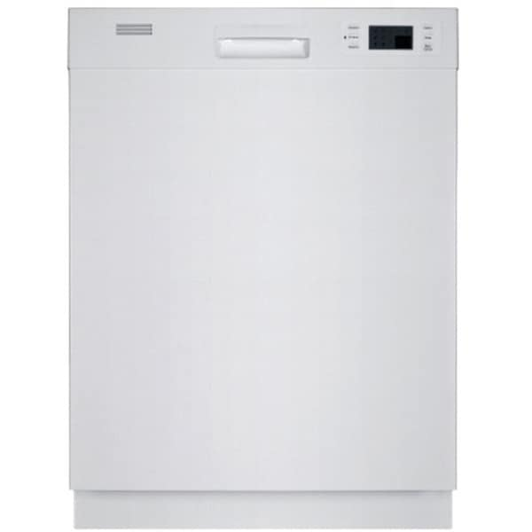 equator full sized built in white dishwasher equator full sized built