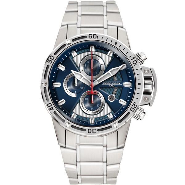 Jorg Gray Men's JG8500-22 Round Chronograph Watch