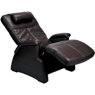 Perfect Chair Transitional Zero-Gravity Leather Recliner (Refurbished)