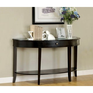 Furniture of America 'Slovaria' Modern Beveled Sofa Table
