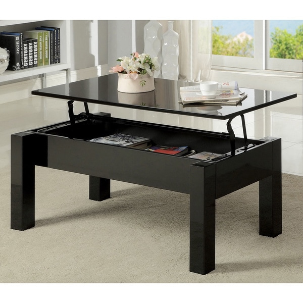 Small Coffee Tables Home Bargains: Furniture Of America Desmonte Bold Lift-top Coffee Table