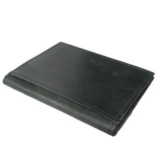 Hollywood Tag Cowhide Leather ID and Card Case