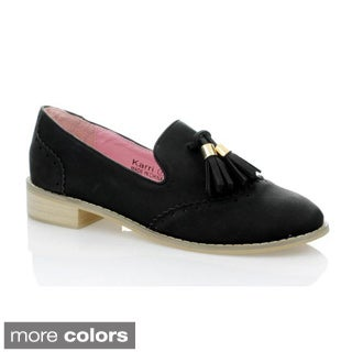 Marilyn Moda Women's 'Karri' Tassel Casual Shoes