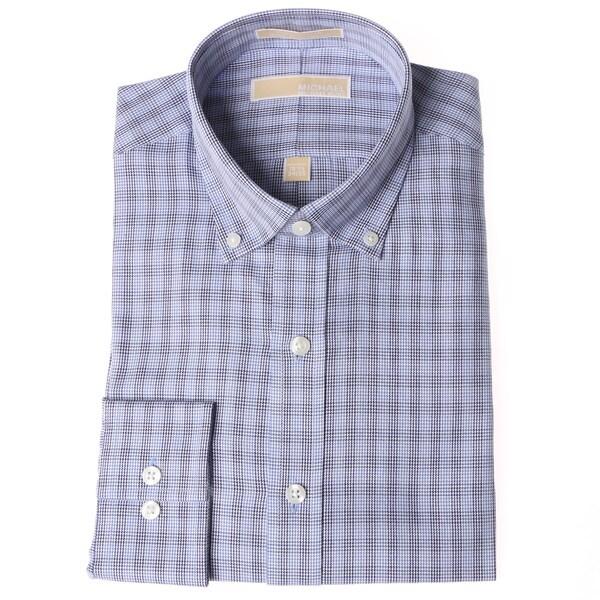 Blue Checkered Dress Blue Checkered Dress Shirt
