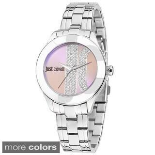 Just Cavalli Women's Silk Stainless Steel Watch