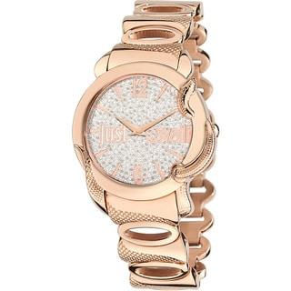 Just Cavalli Women's Eden Gold Ip Crystal Watch