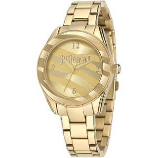 Just Cavalli Women's Gold IP Stainless Steel Watch
