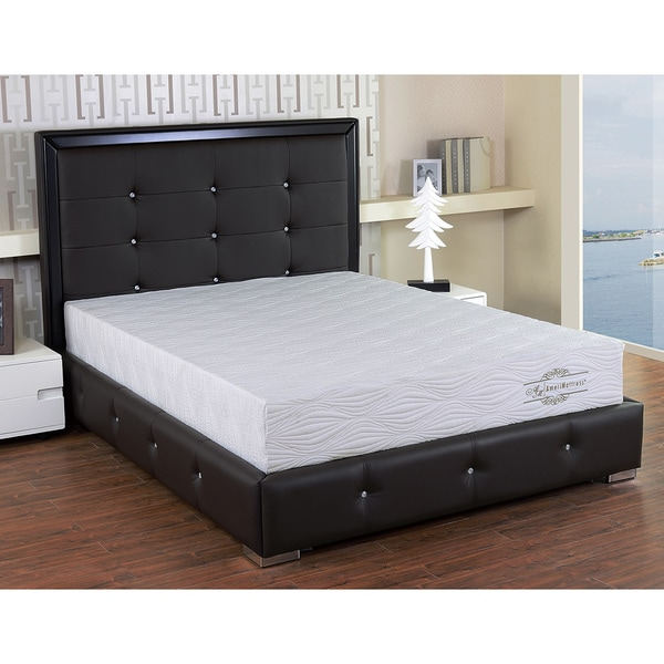 Visco 10-inch Twin-size Gel Memory Foam Mattress
