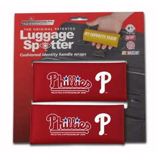 MLB Philadelphia Phillies Original Patented Luggage Spotter (Set of 2)