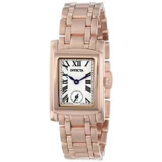Invicta Women's 15625 'Angel' 18k Rose Gold ion-plated Stainless Steel Watch