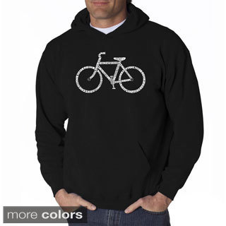 Los Angeles Pop Art Men's 'Save a Planet, Ride a Bike' Sweatshirt