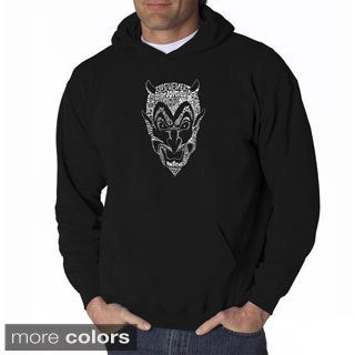 Los Angeles Pop Art Men's Devil Sweatshirt