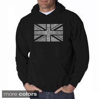 Los Angeles Pop Art Men's Union Jack Sweatshirt