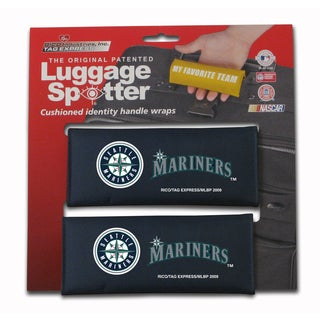 MLB American League Seattle Mariners Original Patented Luggage Spotter (Set of 2)