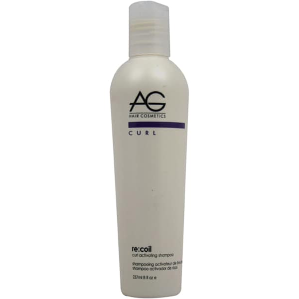 AG Hair Cosmetics ReCoil Curl Activating 8-ounce Shampoo