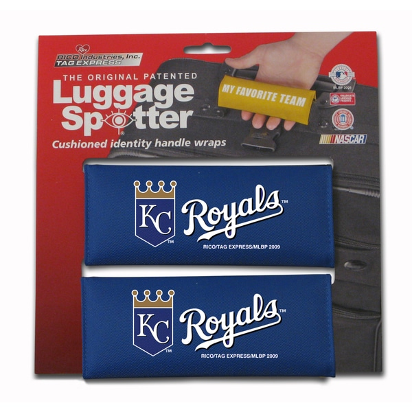 MLB Kansas City Royals Original Patented Luggage Spotter (Set of 2) 12623591