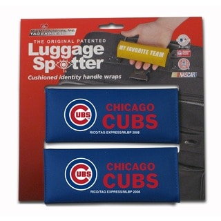 MLB National League Chicago Cubs Original Patented Luggage Spotter (Set of 2)