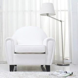Tucson White Arm Chair