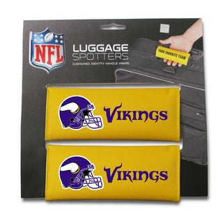 NFL Minnesota Vikings Original Patented Luggage Spotter (Set of 2)
