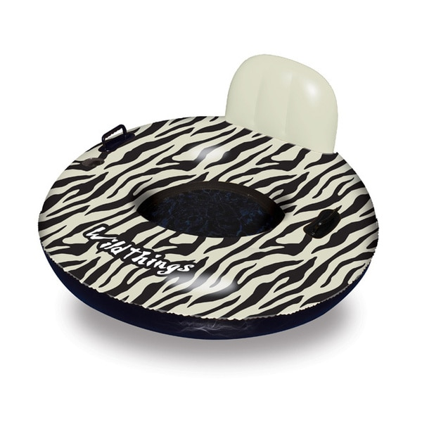 Wildthings 40-inch Zebra Inflatable Pool Float