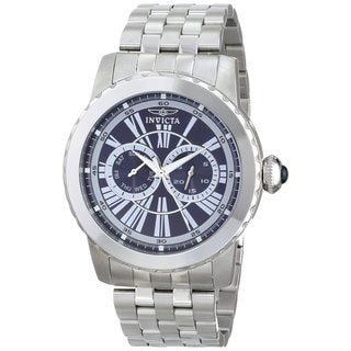 Invicta Men's 14587 Blue Dial Specialty Quartz Stainless Steel Watch