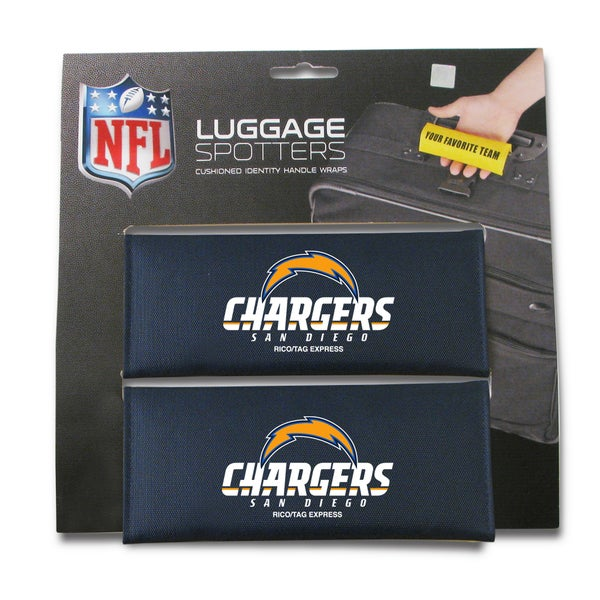 NFL San Diego Chargers Original Patented Luggage Spotter (Set of 2) 12624159