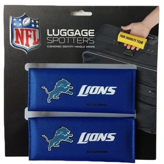 NFL Detroit Lions Original Patented Luggage Spotter (Set of 2)