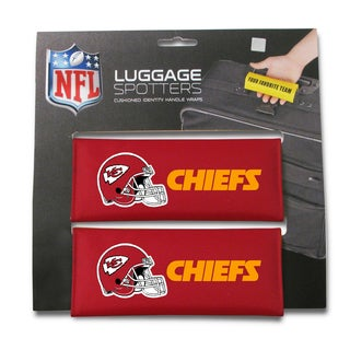 NFL Kansas City Chiefs Original Patented Luggage Spotter (Set of 2)