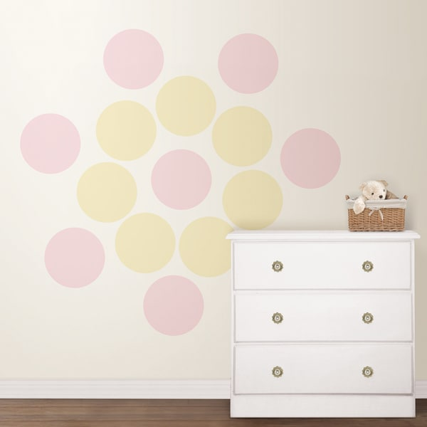 Wall Pops Baby Dots Sticker Decal Set (Pack of 16)