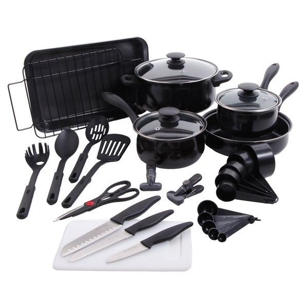 Total Kitchen 30-piece Combo Cookware Set