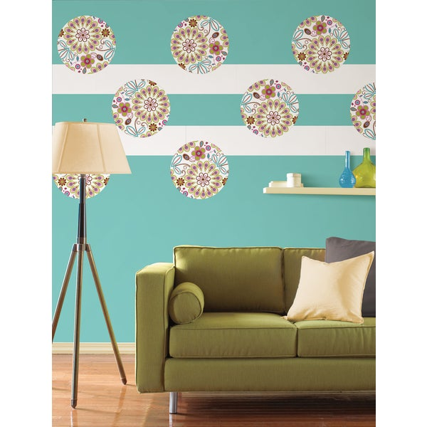 Wall Pops Kaleidoscope Sticker Decals (Pack of 9)