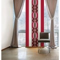 Wall Pops Loopy Red/Pink Room Set