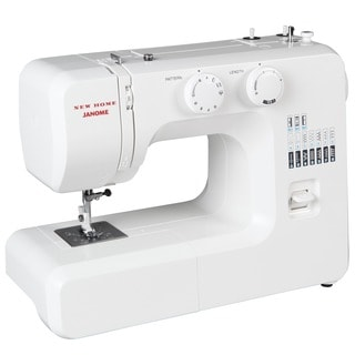 New Home Janome Portable Mechanical Sewing Machine