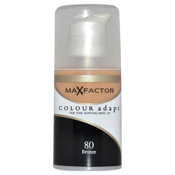 Max Factor Colour Adapt Skin Tone Adapting #80 Bronze Makeup