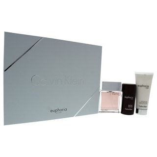 Calvin Klein 'Euphoria' Men's 3-piece Gift Set