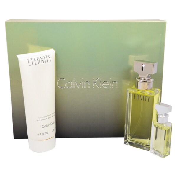 Calvin Klein Eternity Women's 3-piece Gift Set