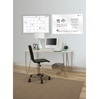 Wall Pops 24x36-inch Whiteboard/ Calendar Set