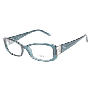 Fendi 976R 425 Ocean Blue Prescription Eyeglasses
