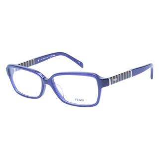 Fendi 1001 467 Blue Prescription Eyeglasses