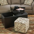 Signature Design by Ashley Danley Brown Storage Ottoman