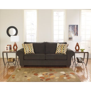Signature Design by Ashley Deandre Java Fabric Sofa