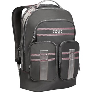 OGIO Grey / Pink Triana 15-inch Laptop Backpack