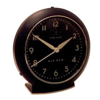 Westclox QA Black Alarm Clock