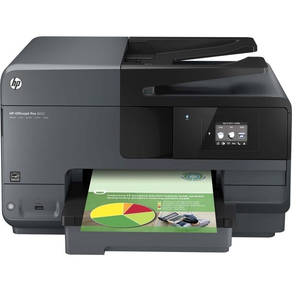 HP Officejet Pro 8600 8610 Inkjet Multifunction Printer - Color - Pla