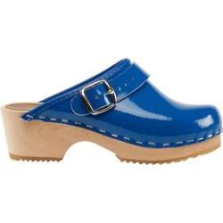 Children's Cape Clogs Cobalt Blue Blue Patent