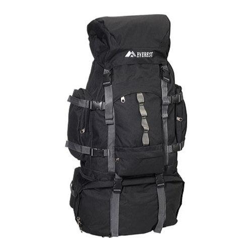 Everest Deluxe Hiking Backpack 8045DLX Black