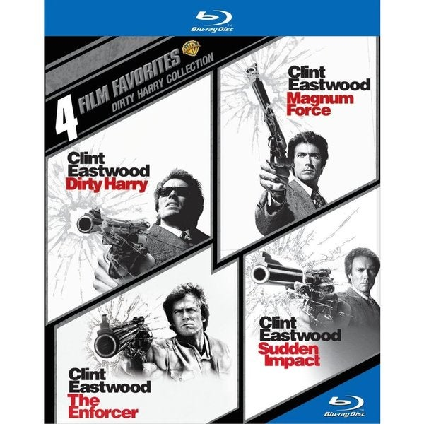 4 Film Favorites: Dirty Harry (Blu-ray Disc) 12626110