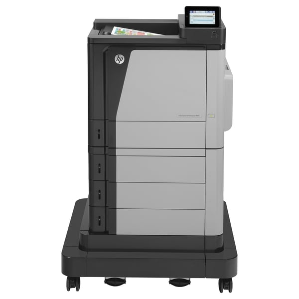 HP LaserJet M651xH Laser Printer - Color - 1200 x 1200 dpi Print - Pl
