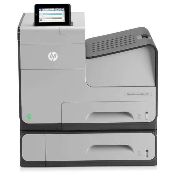 HP Officejet X555XH Inkjet Printer - Color - 2400 x 1200 dpi Print -